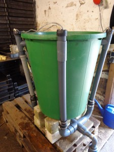 Komposttee-Gerät-Verrohrung