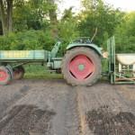 Komposttee im Einsatz